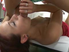 Exotic pornstar in Amazing Medium Tits, Redhead adult video