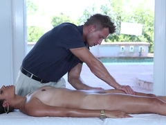 Amazing pornstar Aria Salazar in Horny Massage, Small Tits sex scene