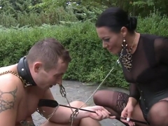 Garden of Submission: Sandra Romain Returns!