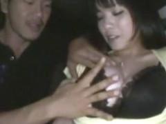 Amazing Japanese model Miho Tsujii in Incredible Car, Big Tits JAV movie