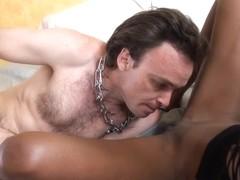BlackGirlsWhiteSlaves: Shock Equals Lick