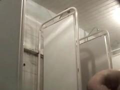Hidden cameras in public pool showers 602