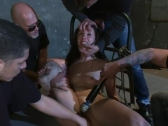 Casey Calvert Lives out her Gangbang Fantasy! First Gangbang,First Dp!