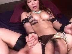 Fabulous Japanese whore Kokomi Sakura in Hottest JAV censored Hairy, Big Tits video