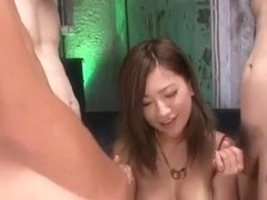 Aika Japan model devours cock in POV style�
