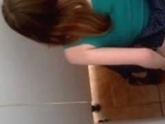 Hidden camera in toilet