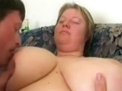 Older big beautiful woman with biggest wobblers