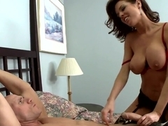 Johnny Sins getting fuck with glamourous delicious brunette Veronica Avluv