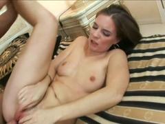 Best pornstar Evelyne Foxy in Amazing Masturbation, Brunette xxx video
