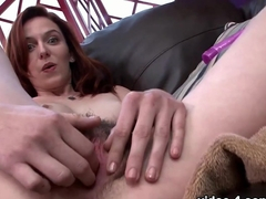 Incredible pornstar Emma Evins in Crazy College, Masturbation adult video