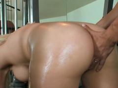 Amazing pornstar Jennifer White in hottest cunnilingus, big ass sex scene