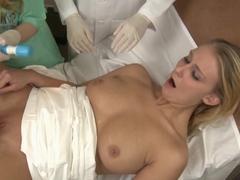 Fabulous pornstars Nicole Moore, Natalie Norton, Aiden Starr in Horny Dildos/Toys, Fucking Machine.