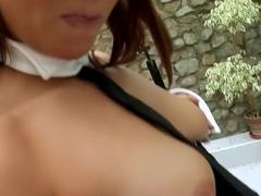 Best pornstar Cony Ferrara in exotic big tits, cumshots sex movie