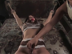 Incredible fetish sex clip with exotic pornstars Rachel Roxxx and Isis Love from Whippedass