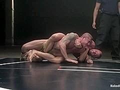 NakedKombat Nick Moretti vs Tyler Saint The Water Match
