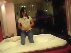Hot GF screwed in a motel