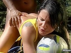 Jbrown & Dani Lopes in Sexy striker Movie