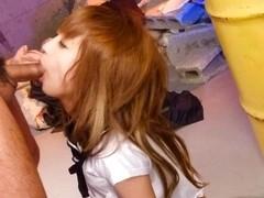 Amazing Japanese whore Sana Anzyu in Hottest JAV uncensored Blowjob clip