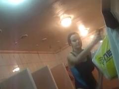 Hidden cameras in public pool showers 92