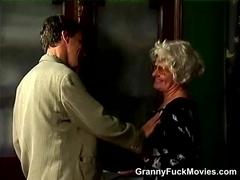 Grandma Turns Into A Real Slut