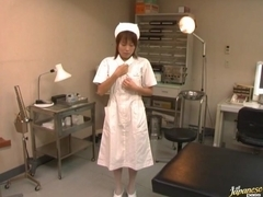 Kirari Koizumi Japanese nurse has hardcore sex