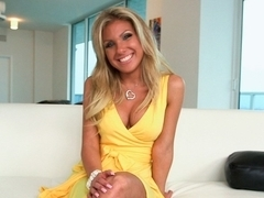 Blonde Gets Her Pussy Banged Out and A...