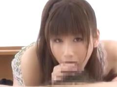 Exotic Japanese girl Chika Eiro in Incredible POV JAV clip