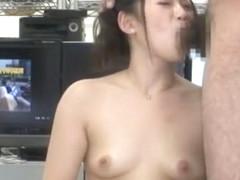 Best Japanese whore Mai Akimoto in Hottest Handjobs, Cunnilingus JAV clip