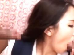 Crazy Japanese whore in Amazing Masturbation, Creampie JAV scene