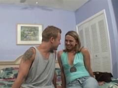 Hottest pornstar Brianna Beach in amazing big ass, blonde sex scene