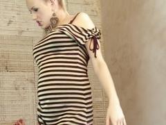 Hottest pornstar Audrey Argento in horny blonde, foot fetish porn scene