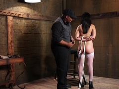 Fabulous fetish, ebony sex video with exotic pornstars Darling Deicide and Orpheus Black from Kink.