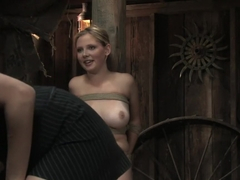 Horny fetish sex scene with exotic pornstars Sara Scott and Lorelei Lee from Wiredpussy