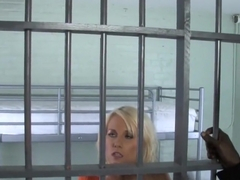 Alexia Skye sucks BBC in prison