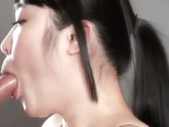 Japanese Blowjob And Facial
