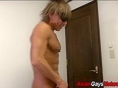 Fetish asian toys ass