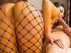 Audrey Bitoni & Bill Bailey in My Friends Hot Girl