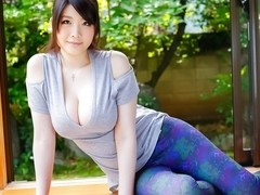 Amazing Japanese whore Rie Tachikawa in Hottest JAV uncensored Blowjob clip
