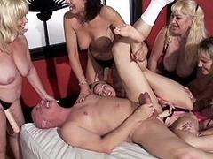 Vanessa Videl and Wanda Lust in Granny fucked grampas fanny s 4