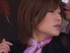 Kaho Kasumi hot Asian milf in an office suit gets hardcore fuck