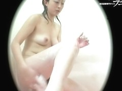 Girl stretched her asian hairy cunt above spy camera dvd 03229