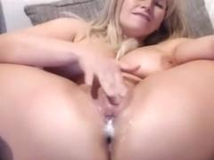 Horny Amateur video with MILF, Masturbation scenes
