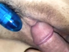 Amateur sex toys make me horny when I fuck with my bf