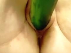 Cucumber Sex Pt 1
