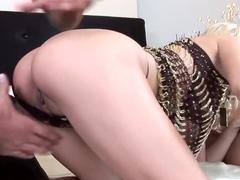 Incredible pornstar Jasmine Rouge in exotic creampie, threesome adult video