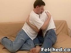 Hot Felching Gay Sex Scene