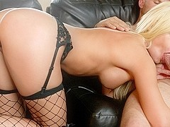Riley Steele, Erik Everhard & Scott Nails in The Masseuse Pt 4, Scene 5