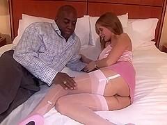 Hot wife bbc creampie