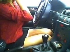 Making sexually excited broke boy-friends jealous masturbating in my fancy car