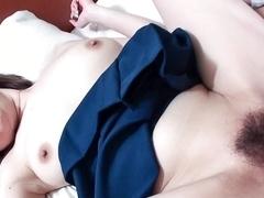 Best Japanese model Miki Uemura in Crazy JAV uncensored Teen video
